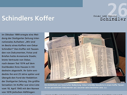 26 Schindlers Koffer