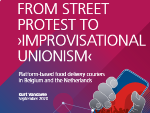 """From street protest to """"improvisational unionism"""" (en)"""