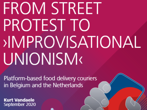 From street protest to improvisational unionism (en)