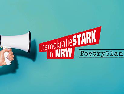 Demokratie stark machen in NRW: Poetry Slam