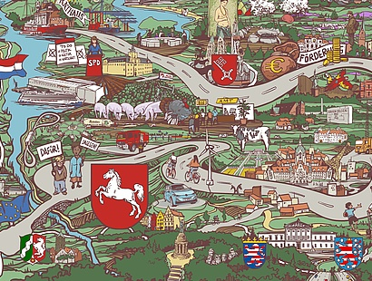 Lernlandkarte Kommunalpolitik Niedersachsen