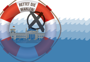 Rettet die Wahlen Bundestag
