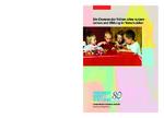 Die Chancen der frühen Jahre nutzen - Lernen und Bildung im Vorschulalter