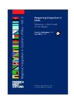 Deepening integration in SADC