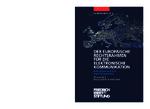 Der europäische Rechtsrahmen für die elektronische Kommunikation