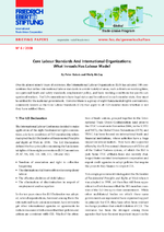 Core labour standards and international organizations