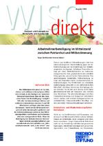 Arbeitnehmerbeteiligung im Mittelstand zwischen Patriarchat und Mitbestimmung