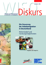 Die Steuerung der Arbeitsmigration in Deutschland