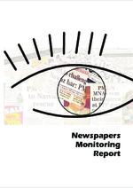 Newspapers monitoring report