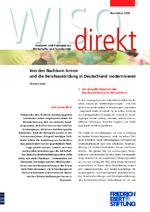 Von den Nachbarn lernen und die Berufsausbildung in Deutschland modernisieren