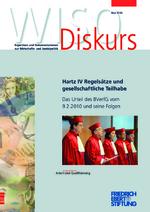 Hartz IV-Regelsätze und gesellschaftliche Teilhabe