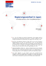 Regierungswechsel in Japan