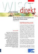 Mit der ökologischen Industriepolitik zum ökologischen Strukturwandel