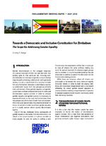 Towards a democratic and inclusive constitution for Zimbabwe