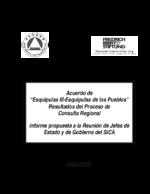 """Acuerdo de """"esquipulas III-esquipulas de los pueblos"""""""