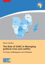 The role of SADC in managing political crisis and conflict
