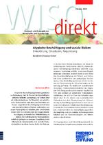Atypische Beschäftigung und soziale Risiken