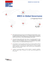 BRICS in global governance
