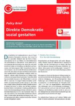 Direkte Demokratie sozial gestalten