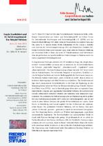 Fragile Staatlichkeit und ihr Gefahrenpotenzial