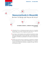 Ressourcenfunde in Mosambik