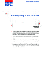 Austerity policy in Europe: Spain