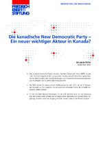 Die kanadische New Democratic Party