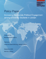 Increasing democratic political engagement among university students in Jordan