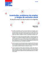 Juventudes, problemas de empleo y riesgos de exclusión social