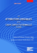 Les attributions originales de la cour constitutionnelle du Bénin