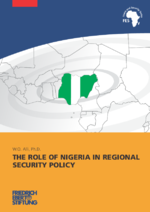 The role of Nigeria in regional security policy