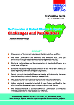 The prosecution of electoral offenders in Nigeria