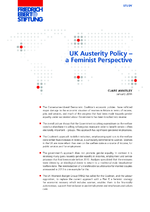 UK austerity policy - a feminist perspective