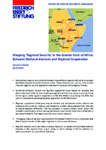 "Mapping ""regional security"" in the Greater Horn of Africa"