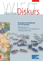 Brauchen Investitionen im TTIP Schutz?