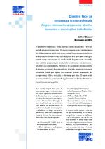 Direitos face às empresas transnacionais