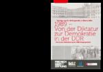 1989 - von der Diktatur zur Demokratie in der DDR
