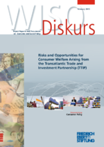 Risks and opportunities for consumer welfare arising from the Transatlantic Trade and Investment Partnership (TTIP)