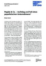 Pegida & Co - Aufstieg und Fall eines populistischen Unternehmens