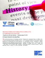 New histories for enduring conflicts: a comparative analysis