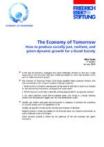 The economy of tomorrow