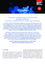 Integration von Flüchtlingen für Deutschland erfolgreich gestalten