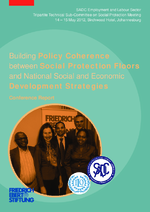 Building policy coherence between social protection floors and national social and economic development strategies