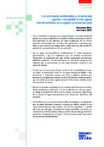 Las amenazas ambientales y la necesaria gestión compartida de las aguas transfronterizas en la región centroamericana