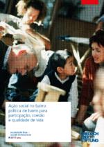 Ação social no bairro