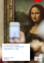 On the way to welfare 4.0 - digitalisation in Italy