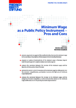 Minimum wage as a public policy instrument
