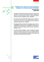 Visibilizando las dimensiones de la adaptación climática en el contexto actual de El Salvador