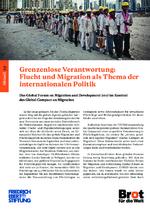 Grenzenlose Verantwortung: Flucht und Migration als Thema der internationalalen Politik