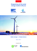 Perspectives of the wind energy market in Russia